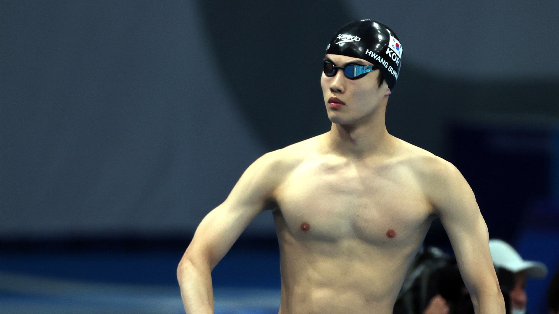 황선우, 한국 수영 최초 100m 결승…아시아신기록까지 경신