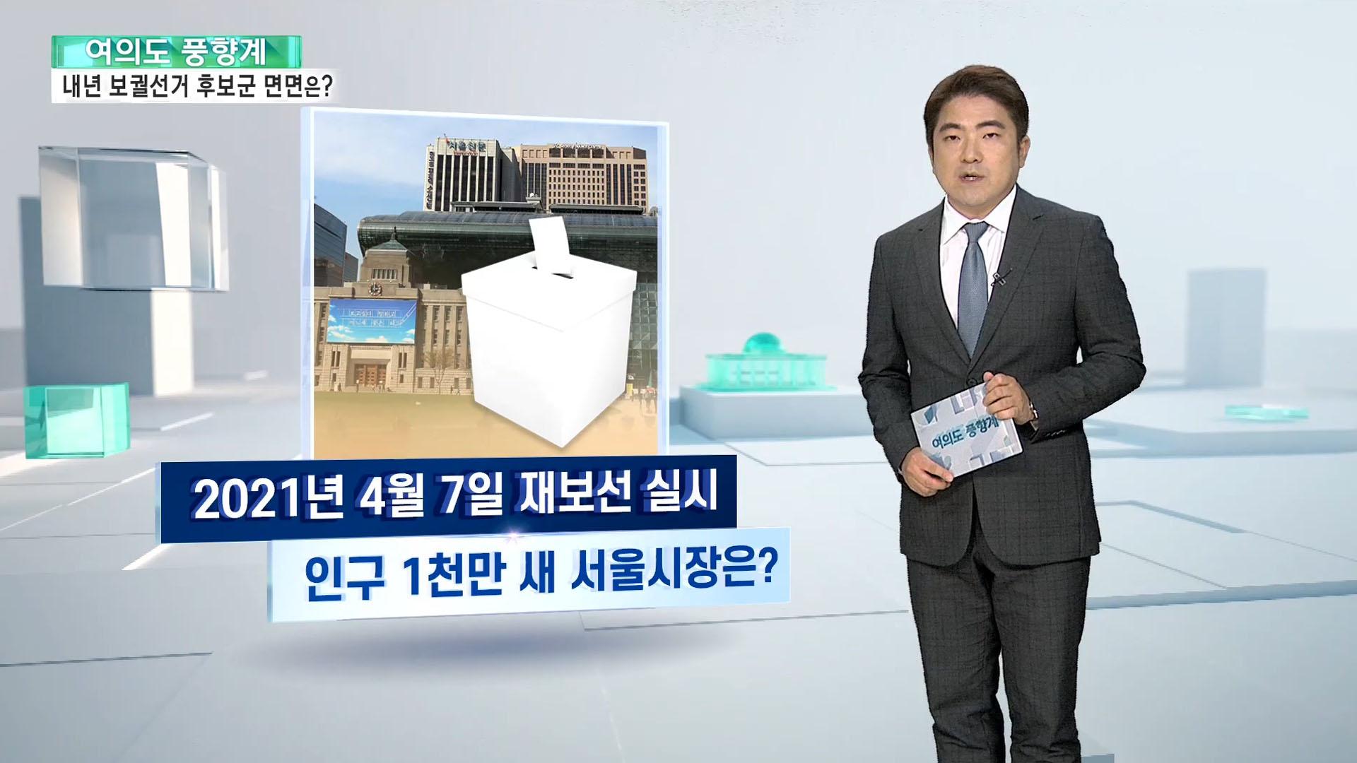 [여의도풍향계] '대선 가늠자' 보궐선거 6개월 앞으로…누가 뛰나